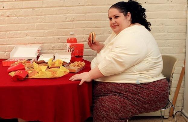 χοντρή γυναίκα